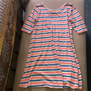 4/$20 Old Navy Dress Stripe L 10/12
